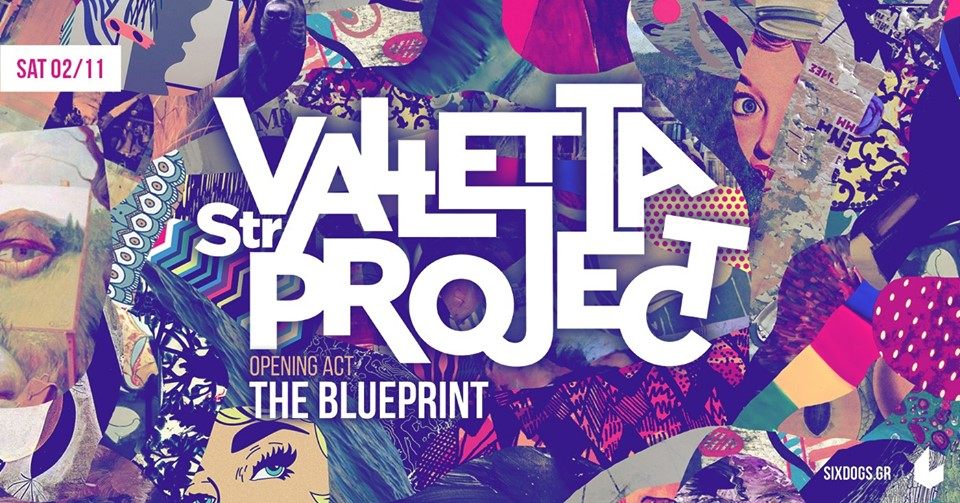 Valletta Str. ProjectThe Blueprint Live at six dogs1