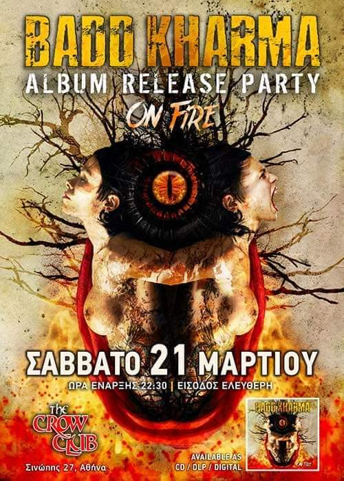 Badd Kharma Album Release Party @ The Crow Live Stage (21/03/20)