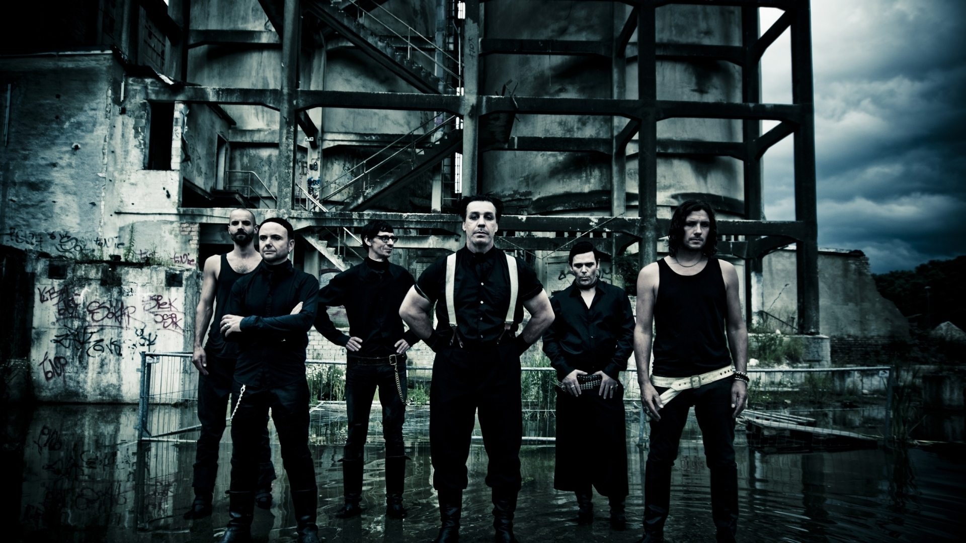 rammstein band members gloom outdoors 2460 1920x1080